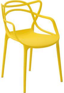 Cadeira Pp Allegra -Rivatti - Amarelo