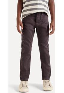 Calça Mini Pf Skinny Color Reserva Mini Masculina - Masculino-Preto