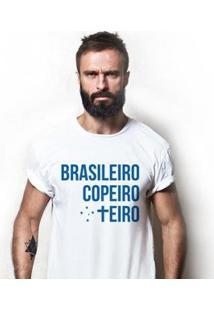 Camiseta Zé Carretilha - Cru-Raposa-Copeiro Masculina - Masculino