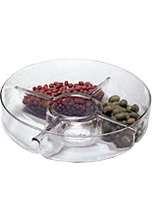 Saladeira De Vidro Luvidart Ref:230Lg