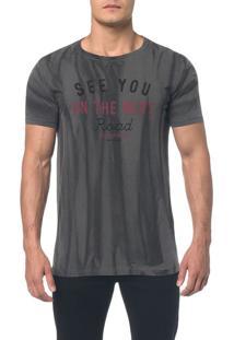 Camiseta Ckj Mc Est See You - Preto - Pp