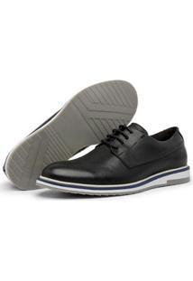 Sapato Oxford Masculino Couro Legítimo Alpha Tabaco - Masculino
