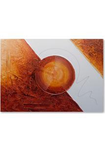 Quadro Abstrato I Uniart Vermelho 70X100Cm