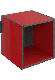 Nicho Pequeno Mov – Be Mobiliário - Vermelho / Carbono