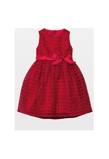 Vestido Laureh Napole Vermelho