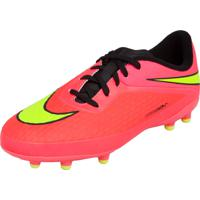 f15592b45970a Chuteira Nike Campo Jr Hypervenom Phelon Fg Rosa