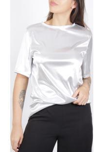 Camiseta Superfluous Prateada - Tricae