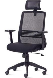 Cadeira Joy Diretor Com Encosto De Cabeca Base Nylon Piramidal - 54208 Sun House