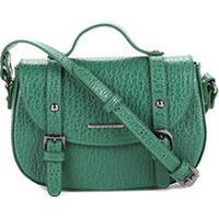 805c51e7f8 Bolsa Couro Colcci Mini Bag Floater Fivelas Feminina - Feminino-Verde