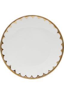 Conjunto De 6 Pratos Para Sobremesa De Porcelana Wolff Egg 20Cm
