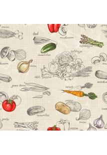 Papel De Parede Adesivo Vegetables