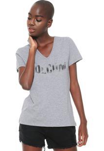 Camiseta Volcom Basic Cinza