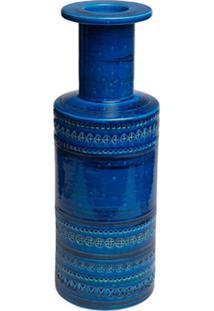Bitossi Ceramiche Vaso Rocchetto Vase - Azul