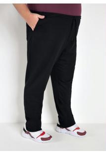 Calça Masculina Confortável Preta