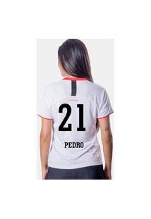 Camiseta Flamengo Insight Feminina 21 Pedro