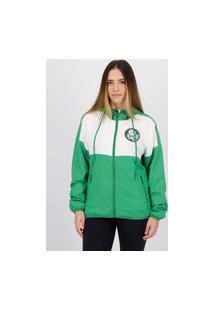 Jaqueta Palmeiras Inserts Feminina Verde