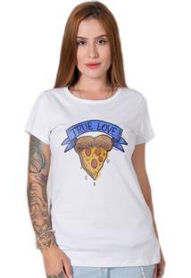 Camiseta True Love Branco