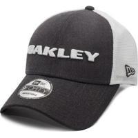Boné Oakley Heather New Era Hat Graphite - Unissex-Cinza 7ea9be73dfb