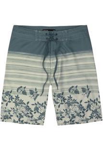 Bermuda Banho Masculino Comfort Estampada