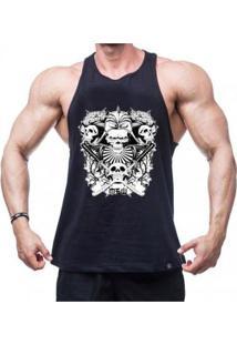 Regata Nadador Samurai Skull Masculina - Masculino