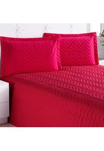 Cobre Leito Enxovais Aquarela Clean Solteiro 01 Peças Pink