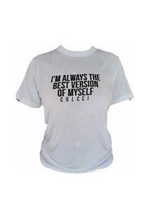 Camiseta Calcci- Branco