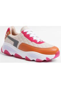 Tênis Feminino Chunky Sneaker Matelassê Vizzano