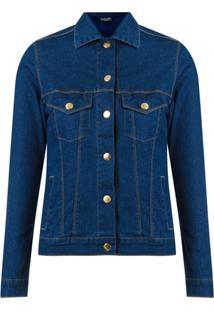 Amapô Jaqueta Jeans Skinny - Azul