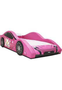 Cama Carro Jet Girl Rosa