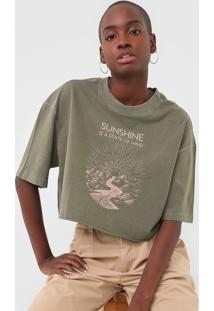 Camiseta Oh, Boy! Sunshine Verde