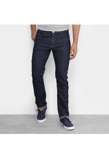 9da8da1a35 Calça Jeans Skinny Rock Blue Elastano Amaciada Escura Masculina - Masculino
