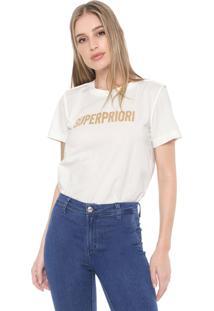 Camiseta Forum Superpriori Off-White