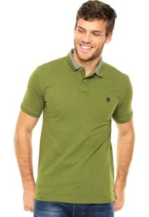 Camisa Polo Timberland Millers Verde