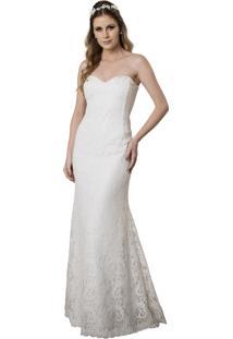 Vestido De Noiva Luit Tomara Que Caia Beatriz Branco