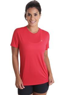 Camiseta Cores Vermelho Liquido