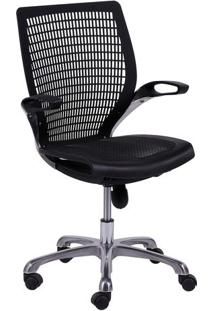 Cadeira De Escritório Age- Preta- 100X60X48Cm- Oor Design