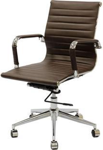 Cadeira Eames Baixa Cafe Base Cromada - 27053 - Sun House
