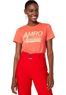 Camiseta Amaro Amro Feminina - Feminino