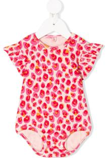 Stella Mccartney Kids Leopard-Print Organic-Cotton Body - Neutro