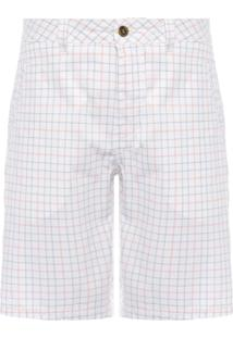 Bermuda Masculina Básica Chino Light- Off White