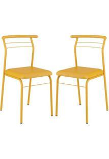 Cadeira Carraro 1708 Amarelo
