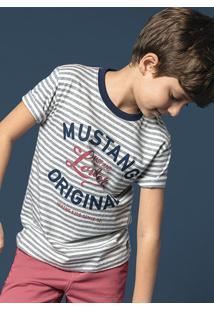 6c3f701ec Camiseta Infantil Menino Em Fio Tinto Com Estampa Hering Kids