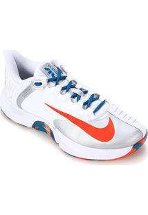Tênis Nike Air Zoom Gp Turbo Masculino - Masculino-Branco+Laranja