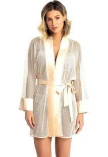 Robe Recco De Tule Acetinado Charmeuse Feminino - Feminino
