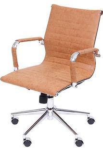 Cadeira Office Eames Esteirinha Retrô- Caramelo- 105Or Design