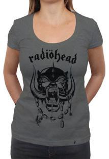 Radiohead - Camiseta Clássica Premium Feminina