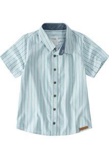 Camisa Em Tricoline Malwee Kids