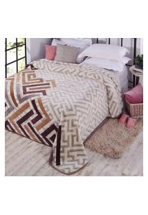 Cobertor Jolitex Ternille Kyor Plus 1,80M X 2,20M Zurique C/Caixa
