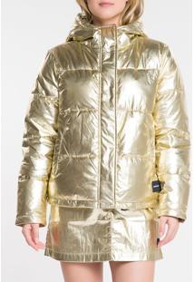 Jaqueta Ckj Fem Mw Gold - Amarelo Ouro - Pp