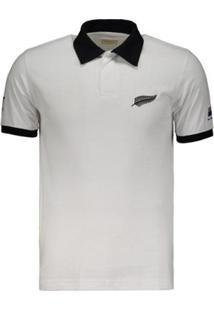 7ac3802fbb Netshoes. Camisa All Blacks 1987 Rugby Retrô Masculina - Masculino
